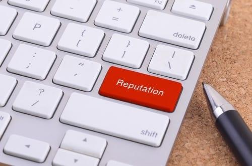 réputation en ligne ou web reputation