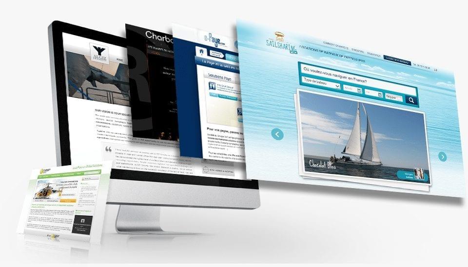 creation site internet responsive design