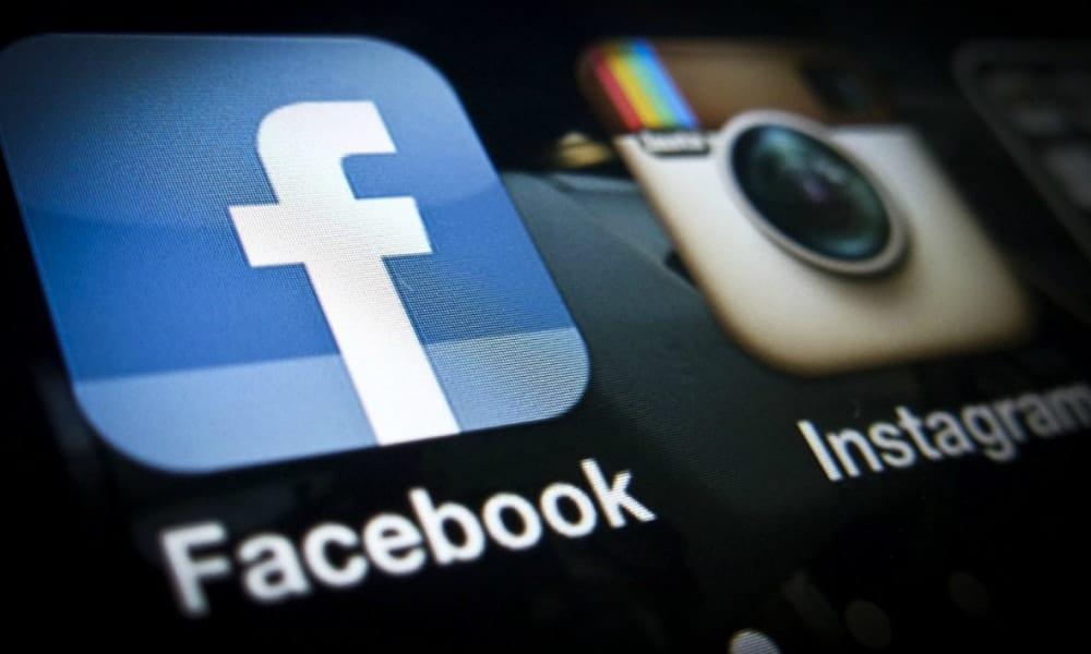 publicité sur Facebook et Instagram