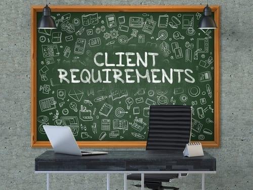 Nouvelles exigences des clients
