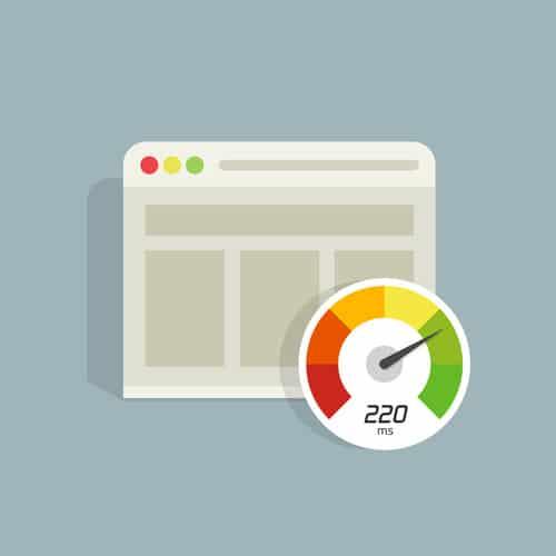 Vitesse de chargement de votre site web