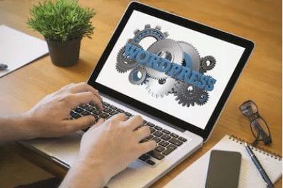 refonte site web vitrine avec WordPress