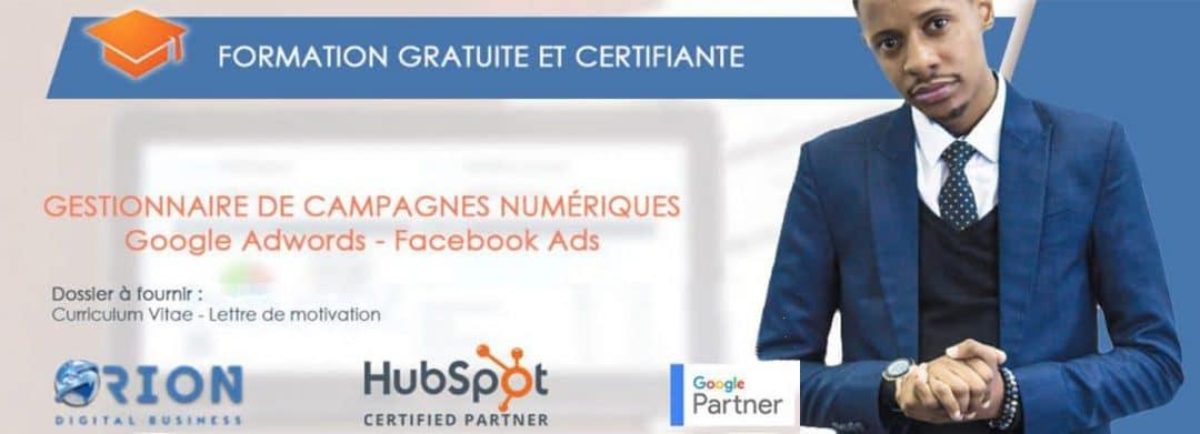 Formation Gratuite en Marketing Digital 1